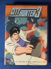 City Hunter 3 Collector's Set (DVD,3-disc) VG-1871-192-014
