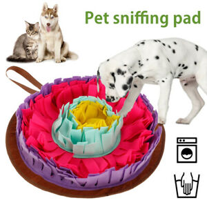 Dog Snuffle Toys Feeding Cushion Mat Nose Pet Training Sniffing Pad Blanket Game