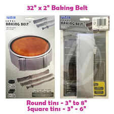 "PME Level Baking Belt - 32 x 2 inch (81 x 5 cm) - Level Cake Baking 3-8"" Tin"