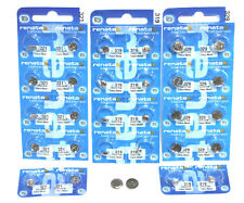 Renata Silver Oxide Watch Battery / Button Cell. MANY SIZES ( Mercury Free )