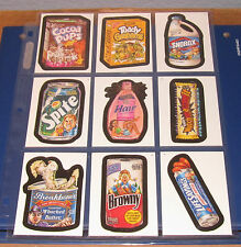 WACKY PACKAGES ANS3 SINGLES ( PICK ANY 3 ) GREAT PRICE
