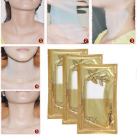 Crystal Collagen Moisture  Neck Pad Patch Anti-Wrinkle Lift Mask Anti-aging AF