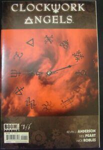 CLOCKWORK ANGELS 1 BOOM COMIC NEIL PEART RUSH MUSIC ANDERSON ROBLES 2014 NM