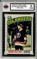 1976-77 O-Pee-Chee #115 Bryan Trottier RC - Graded 6.0 (050819-15)