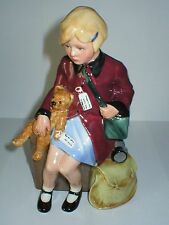 ROYAL DOULTON FIGURINE GIRL EVACUEE HN3203 FIGURE CHILDREN OF THE BLITZ LTD ED