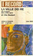 G9 La valle dei re Otto Neubert Record Mondadori 1966