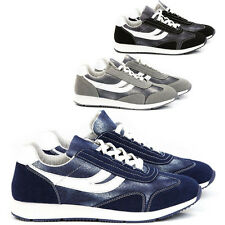 Scarpe Uomo Sneakers Pelle PU Casual Francesine Mocassini Ginnastica Comode S22