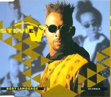 THE ADVENTURES OF STEVIE V - Body language 3TR CDM 1990 HOUSE