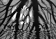 Escher # 17 cm 70x100 Poster Stampa Grafica Printing Digital Fine Art papiarte
