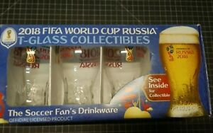 2018 FIFA World Cup T-glass Collectibles Drinkware Soccer's Fan Free Shipping