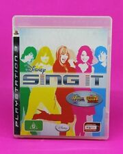 DISNEY SING IT PS3 😎AUSSIE SELLER😎 (PLAYSTATION) NO BOOKLET GAME~FAST POST !!!
