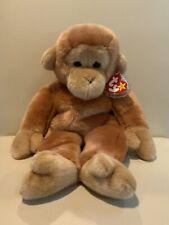 13� Ty Beanie Buddies Bongo the Monkey Ape Plush