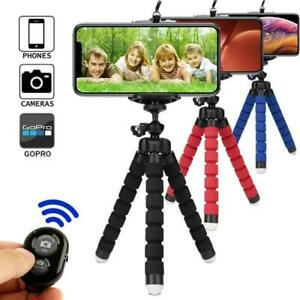 Flexible Universal Camera Mobile Phone Tripod Stand Holder for Samsung Iphone BT