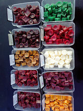 100 christmas scented wax melts can use in yankee/ partylite & other oil burners