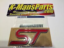Ford Focus ST emblem badge rear OEM new