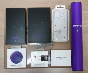 New SAMSUNG Galaxy BTS Edition S20+ 256GB Unlocked + Buds+ PREORDER GIFTs