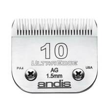 "Andis UltraEdge Detachable Blade, Size 10 - Leaves 1.5mm or 1/16"" Fits AGC/AGR+"