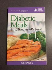 Diabetic Meals in 30 Minutes or Less American Diabetic Association Paperback