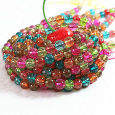 """New 8mm Multicolor Tourmaline Round Loose Beads 15""""##KH111"""