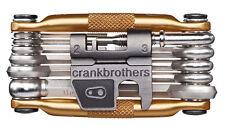 Crank Brothers Multi-17 Mini Bicycle Multi Tool Gold