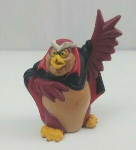 Vintage 1992 Goldcrest Animation Dairy Queen Toy Rock-A-Doodle Grand Duke Owl