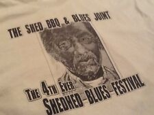Shedhed Blues Festival Shirt - Big Joe Turner, Bobby Rush, James Blood Ulmer, ++
