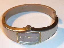 vintage ALMARY n°112670 swiss lady Watch MONTRE SUISSE femme uhr BRACELET RIGIDE