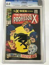 X-MEN # 42 CGC 8.0 - Death Professor X . Origin Cyclops