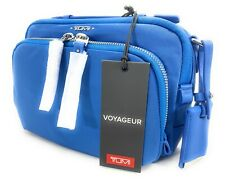 Tumi Voyageur Luanda Flight Bag Bright Blue Shoulder Bag Crossbody