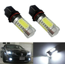 2pcs HID White CREE High Power P13W COB LED DRL Fog Lights Bulbs For Chevrolet