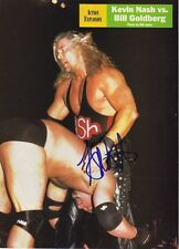 WWE WWF KEVIN NASH AUTOGRAPHED HAND SIGNED 8X10 PHOTO WRESTLING PICTURE