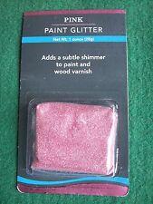 PINK PAINT GLITTER, Turner & Gray Glitz, additive, SPARKLE/SHIMMER/PRINCESS ROOM