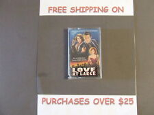 SEALED LOVE AT LARGE SOUNDTRACK MUSIC BY WARREN ZEVON & MARK ISHAM CASSETTE
