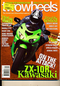 Two Wheels Magazine Jan 2006 ZX-10R DR-400S Vespa LX150 GV650 S4R Butale 910