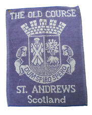 Vintage St. Andrews The Old Course Scotland England 18�X14� Blue White