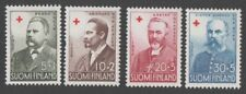 Finland. 1956 Red Cross charity - Presidents. MNH