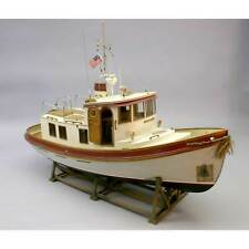 """Dumas Products Inc. 1/16 The Lord Nelson Victory Tug Boat Kit 28"""""""