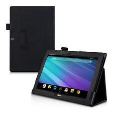 kwmobile Schutz Hülle für Acer Iconia Tab 10 (A3-A30) Schwarz Kunstleder Tasche