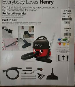 Numatic HVR160-11 Henry Compact cylinder Vacuum Cleaner Hoover BRAND NEW SEALED