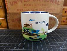 Vintage Starbucks You Are Here Coffee Mug Kentucky