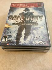 Call of Duty: World at War -- Final Fronts Greatest Hits Sony PlayStation 2, PS2