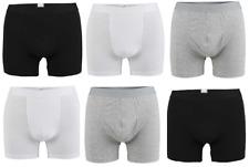 6 Pairs Mens Boxer Shorts Underwear Soft Cotton Lycra Fit Trunks Sports Work UK