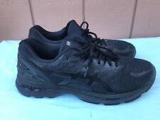 ASICS Men's Size US 13 Gel-Nimbus 20 Running Shoe Black White Carbon AY