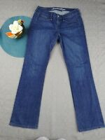 AMERICAN EAGLE OUTFITTERS WOMEN'S TRUE BOOT MEDIUM WASH JEANS SIZE 6 1AE26