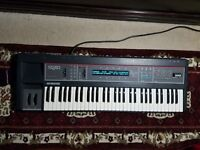 Ensoniq SQ-80 Synthesizer/Sequencer with sound cartridge