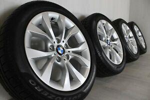 """17"""" BMW X1 E84 Style 318 wheels with 7mm Pirelli SottoZero Run-flat WINTER tyres"""
