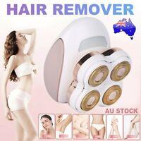 Facial Leg Painless Hair Epilator Remover Shaver Trimmer Electric USB Wet Dry AU