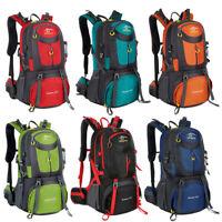40L/50L/60L Outdoor Hiking Backpack Camping Shoulder Bag Travel Sport Waterproof