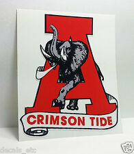 University of ALABAMA, Crimson Tide, Roll Tide, Vintage Style DECAL / STICKER 4""