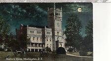Soldiers Home  at Night   Washington DC  Unused Postcard 62316